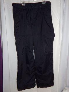 Polar Edge Men's Size XL Dominator Snow Pants Water Resistant  #PolarEdge