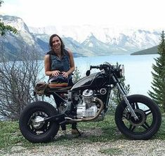 Nice work by @jennamacm and her father on this , very cool Honda gl 500 , thanks for sending in your machine
