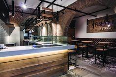 arch. carlo di maulo -  Fish Bar - Roma - Fish Hub - food - design