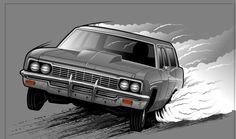 RA Graphics - Car Illustrations