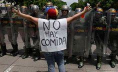 Protestas en varias zonas de Venezuela por escasez de alimentos, gas y agua
