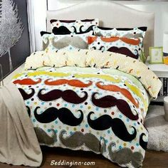 New Arrival Coral Fleece Beard Pattern 4 Piece Bedding Sets /Duvet Cover Sets Girls Duvet Covers, King Size Duvet Covers, Girls Bedding Sets, Bedding Sets Online, Bed Duvet Covers, Duvet Cover Sets, Full Size Bed Comforter, Bed Sheet Sizes, Twin Bed Sheets