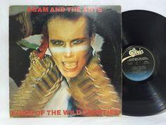 ADAM AND THE ANTS Kings Of The Wild Frontier LP Original OOP