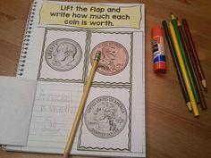 Money Activities- Interactive Notebook
