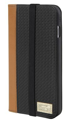Icon Wallet for iPhone 6 Plus Black Woven Leather - iPhone 6 Plus - Cases - Shop | HEX