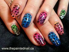 colourful animal print