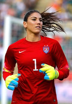 Hot photos of Team USA soccer star Hope Solo in action at 2015 World Cup