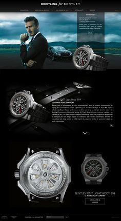 Breitling #Webdesign #luxury #watches Website Design Layout, Web Layout, Layout Design, Luxury Website, Lookbook Design, Instagram Plan, Bracelets Design, Best Banner, Inside Design