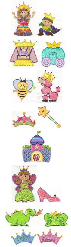 Fit for a Princess Applique