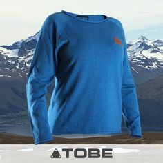 TOBE Casa Sweater - Women's - Warm, comfortable organic cotton, flat-knit sweater designed in Sweden. - Outdoors, ski, snowboard, snowmobile, camping