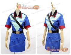 Pokemon Officer Jenny cosplay costume Blue uniform by TailorShop88