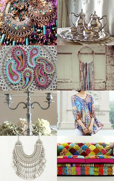 Boho style by Serge on Etsy--Pinned with TreasuryPin.com