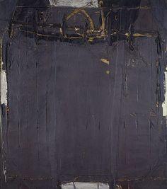Antoni Tapies Gris Violacé aux Rides [Violet Grey with Lines] 1961. I want to dye a similar colour