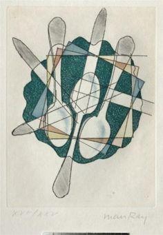 Man Ray - Great still life idea