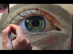 Speed Painting, Carol by Louis Smith (art classes,courses and workshops) Jason Bowen, How To Start Painting, Oil Painting Lessons, Painting Techniques, Acrilic Paintings, Watercolor Video, Art Folder, Portrait Art, Portrait Paintings