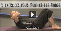 Crunch, planche, rotations... Voici 5 exercices pour muscler les abdos !