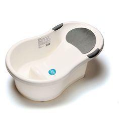 Une baignoire bébé 0-6 mois avec un transat de bain intégré fera du bain de bébé un moment agréable et sécurisant... #