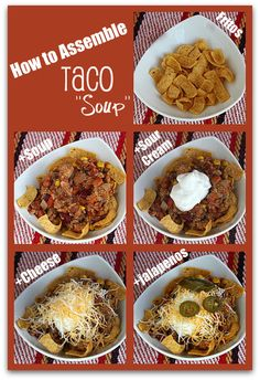 Recipe for Taco Soup- and how to put it all together!