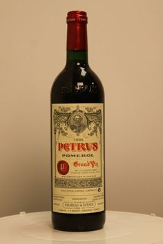 Petrus Pomerol 1998 550x825 Cheers! Top of the Line Wines That Every Man Would Love to Drink