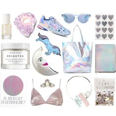 Brighten Up by herbivore-botanicals on Polyvore featuring polyvore fashion style adidas Eddie Borgo Sunday Somewhere rms beauty Silken Favours