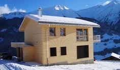 """Wunderschönes Ferienhaus """"Casa Survesta"""" in Lumbrein, Val Lumnezia, Schweiz"""