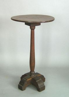 18th c. X base candle stand.  google.com