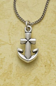 Anchor Cross Charm from James Avery Jewelry #jamesavery