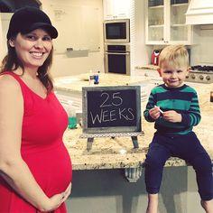 Hold the Gluten Please: 24/25 weeks
