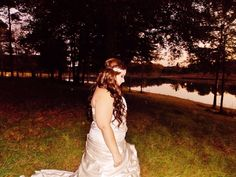 Beautiful bride! #nightwedding #bridalmakeup #weddingphotography #bridalhair #bohemian #pinkpewter #headband  #weddinghair #weddingmakeup  #beautifulbride #longhair #bridalphotography #weddingatwater #weddingsunset #weddinginlove #rusticwedding #weddinginnature #weddingdress