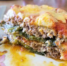 Cheesy Poblano Beef Bake - low carb, keto, gluten free – Kawaii Treats and Eats