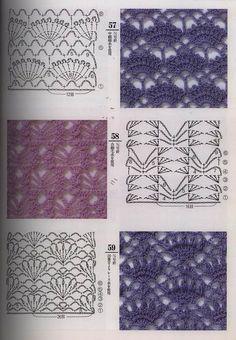 Crochet Stitch Graphs // Hooked on Crochet // Free