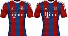 Check out leaked images of Bayern Munich new Jersey for Season 2014/15