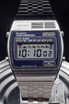 Retro Watches, Old Watches, G Shock Watches, Casio G Shock, Vintage Watches, Mens Watches For Sale, Alarm Set, Digital Watch, Seiko