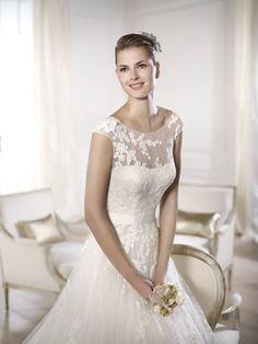 Ofira - Pronovias 2015 kollekciók - Esküvői ruha szalon - Menyasszonyi ruha  kölcsönzés Wedding Dresses 2014 e5e08714b5