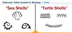 Polynesian Tattoo Symbols & Meanings (Shells)