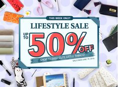 Lifestyle Sale Up to 50% OFF