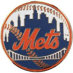 New York Mets Logo Pin. Officially licensed product. Usually ships same business day.