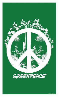 this poster is greenpeace inspired poster