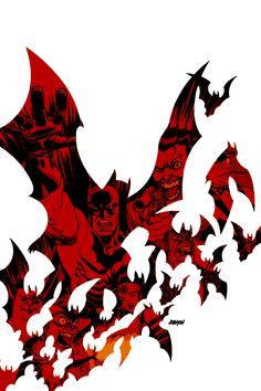 Batman Broken City - Dave Johnson