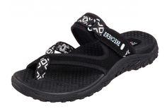 4fb044fdfe38 Skechers Reggae Trailway Black Women s Sporty Comfort Sandals