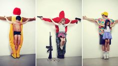 Are these images offensive? Or provocative. Picture: Eric Ravelo