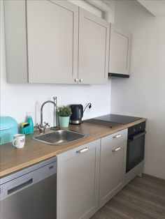 Knoxhult IKEA grey kitchen