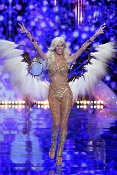 On the Runway at the 2014 Victoria's Secret Fashion Show