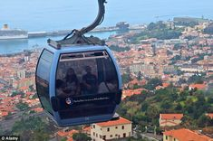 Afternoon tea and white knuckle cable-car rides: Six things you must do in Turismo da Madeira   Via Daily Mail | 09/09/2012  Passengers take the cable car from Funchal to Monte Madeira Portugal