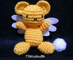 Kero, personaje de Sakura Card Captor, realizado en crochet y preparado para llavero o adorno. Ésto y mucho más en Otakulandia.es en Facebook...