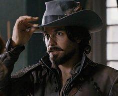 Aramis And Anne, Bbc Musketeers, Tom Burke, Cowboy Hats, Santiago