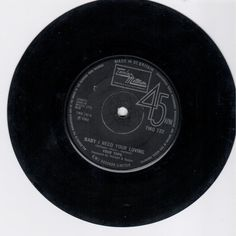 FOUR TOPS - Baby I Need Your Loving (TAMLA MOTOWN TMG 732) Vinyl | Music