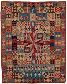 War and Pieced: The Annette Gero Collection of Quilts from Military Fabrics | American Folk Art Museum