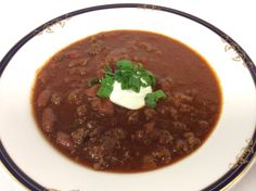 Warm up your Tuesday and celebrate #NationalSoupMonth with  today's soup special - Chili with kidney beans (celery, onions, garlic, fresh herbs, diced tomatoes, chili sauce, cumin, chili powder, beef stock, Worcestershire Sauce, Tabasco Sauce, cilantro, peppers).  #FairviewDiningRoom #BullDurhamBar