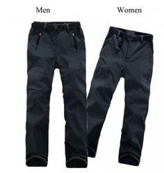 2014 Women&Men Lovers Outdoor Sports Fashion Leisure pants Soft Shell Fleece Trousers Windproof waterproof Anti-UV quick dry